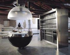 18 Futuristic kitchen designs | http://www.littlepieceofme.com/kitchen/futuristic-kitchen-designs/