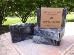Clarifying Facial Soap with Activated by FreshAsaDaisySoaps, $5.00