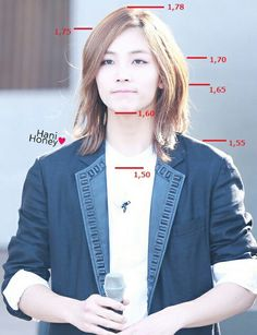 Height chart for #junghan