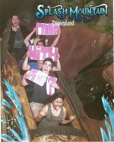 The Prom Proposal | 19 Hilarious Pictures Of People Posing On Splash Mountain