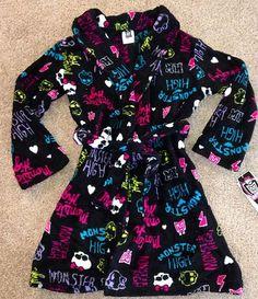 1ff61bbd35 Monster High Girl s Robe Sleepwear Girls Sleepwear