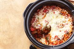 Slow-Cooker Vegetable Lasagna recipe