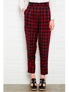 The high-waisted tartan trouser - CosmopolitanUK