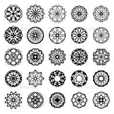 Find Black Round East Ornament Set Vector stock images in HD and millions of other royalty-free stock photos, illustrations and vectors in the Shutterstock collection. Pvc Pipe Crafts, Mandala Art Lesson, Geometric Graphic, Tangle Art, Bullet Journal Art, Zentangle Patterns, Zentangles, Symbolic Tattoos, Mehndi