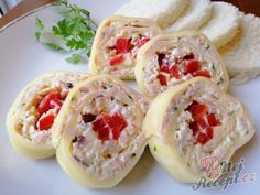Bruschetta, Sushi, Party, Good Food, Food And Drink, Low Carb, Mexican, Cooking, Ethnic Recipes