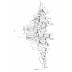 Bartlett Year 1 Architecture Diary Carme Pinos and Enric Miralles... ❤ liked on Polyvore