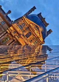 Mirror, Louvre, Paris, France