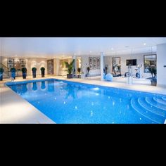 Indoor pool and gym, yes please! #Padgram