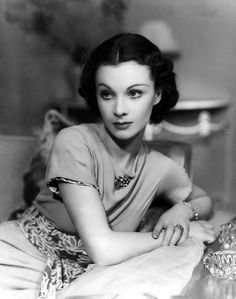 Vivien Leigh. I have always thought she was one of the most beautiful women ever. She joins Lauren Bacall in the top two.