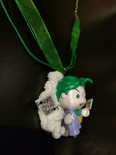 Chibi Joker Decoden Necklace Kawaii Whipped Cream and Candy Desserts Chocolate These are ready to ship jewelry pieces.  Each is unique and made by hand using only licensed toys. Combination of whipped cream that squishes together