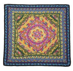 Mandala Afghan (Crochet)