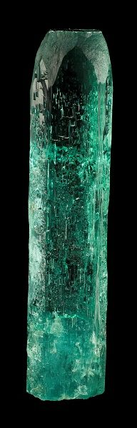 Simply gorgeous AQUAMARINE with etched surface. From ANGICOS MINE – NEAR MEDINA CITY, M.G., BRAZIL