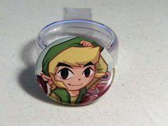 "Comic Book 1.5"" Button// Legend of Zelda// Link, $1.00"