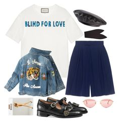 """""""blind for you (927)"""" by arcvs ❤ liked on Polyvore featuring Gucci, Chloé, Wolford, vintage, gucci and chloe"""