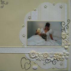 Wedding pg1 - Scrapbook.com