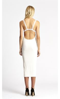 alice McCALL Count On Me Dress White
