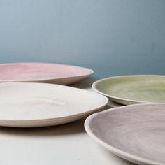 Organic Beach Sand Dinner Plate | Wonki Ware