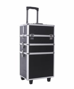 For my Wedding Kit.  $90.  4 in 1 Rolling Makeup Case Cosmetic Train Cases Beauty Box Free Shipping | eBay