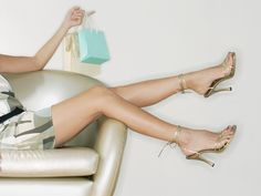 """""""If you don't already do pilates, mix together moisturizer, liquid body bronzer, and liquid illuminator,"""" says Nemes. """"Then, apply the concoction all over your legs from the thigh down to your toe cleavage. This blend will improve skin texture, smooth out imperfections, and attract light to the legs."""" Getty  - MarieClaire.com"""