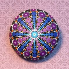 RESERVED for Abana Mandala Stone Large by KimberlyVallee on Etsy