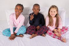 Kid's Mix & Match Pajama's Girls Pyjamas, Boys Boxers, Boy Blue, Pj Sets, Mini Me, Short Girls, Mix Match, Pjs, Blue Stripes