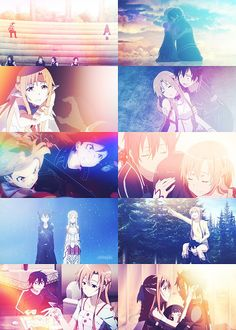 SAO - I want someone to love me as much as Kirito loves Asuna! - (I didn't write this but I think it's cute so i'm just going to leave it! Arte Online, Kunst Online, Online Art, Full Metal Alchemist, Teen Titans, Rwby, Tous Les Anime, Sailor Moon, Manga Anime