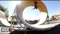 Videos Aaron Jaws Homoki Loop - No dia 21 de Outubro de 2013, Aaron Jaws entra na lista junto com Tony Hwb, Bob Burnquist e tornou-se o 20 skatista a fazer o loop completo se liga no video lançado pelo canal Ride Channel.
