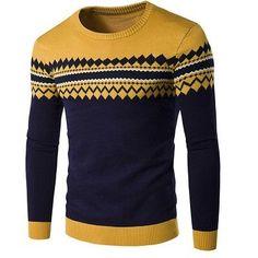 Men 's Sweaters New Hooded Round Neck Long Sleeve Cosy Outwear Swearter