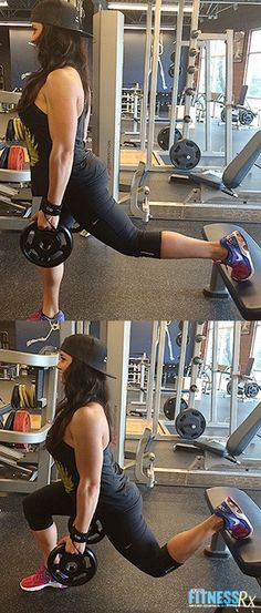 3 Moves for Toned Glutes - Tighten Up with Squats and Lunges