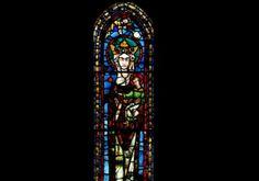 Vidriera del Monasterio de las Huelgas en Burgos (1200-20)