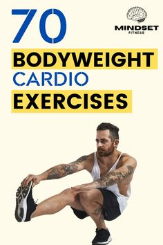 List Of Cardio Exercises, Best Body Weight Exercises, Weight Workouts, Body Workouts, Workout Plan For Men, Workout Guide, Mom Workout, Workout Plans, Workout Ideas