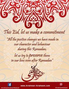 The Team of Arrahman Arraheem Network wishes Eid Mubarak to all Muslims across the globe. Godfather Quotes, Eid Festival, Eid Mubarak, Ramadan, Wish, Globe, Islam, Positivity, Let It Be