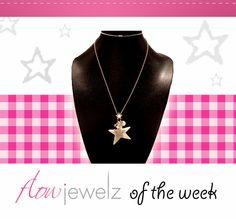 Necklace with a beautiful star
