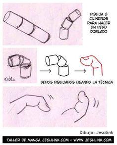 Cómo dibujar manos - Jesulink.com