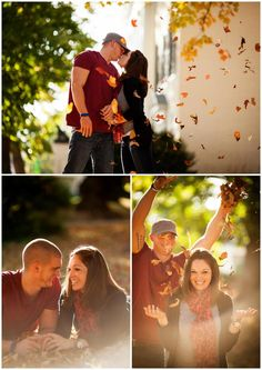 Fall engagement photo ideas and poses. Virginia in the fall - Lauren D. Rogers Photography