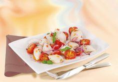 Calmars sauce aux tomates cerises #recette #gastronomie #fruitsdemer