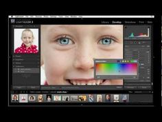 How to use the Adjustment brush to enhance eyes in Lightroom | lynda.com tutorial