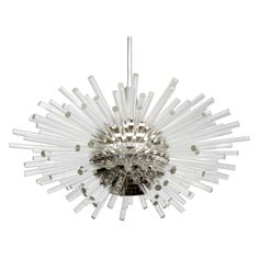 Crystal Sputnik Chandelier by Bakalowits | From a unique collection of antique and modern chandeliers and pendants  at http://www.1stdibs.com/furniture/lighting/chandeliers-pendant-lights/