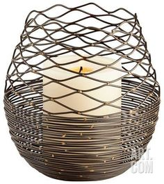 Coiled Silk Candleholder - Large* Home Accessories at Art.com