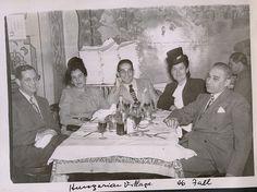 Hungarian Village Restaurant, Detroit, 1946