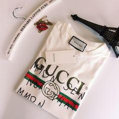Gucci coco capitan classic logo letter sleeve Gucci 2017 shirt custom clothing von Pandoravogue auf Etsy https://www.etsy.com/de/listing/543295814/gucci-coco-capitan-classic-logo-letter
