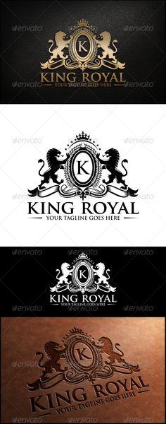 King Royal Logo Template #design #logotype Download: http://graphicriver.net/item/king-royal-logo-template/8022060?ref=ksioks