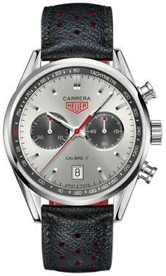 CV2119.FC6310 TAG Heuer Carrera Limited Edition Jack Heuer 80th Birthday Mens Watch