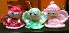 Angelitos o haditas para suvenir o para adornar tu arbolito de navidad.