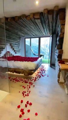 Luxury Bedroom Design, Room Design Bedroom, Home Room Design, Home Design Plans, Home Interior Design, Bedroom Decor, Luxury Yacht Interior, Romantic Room Decoration, 3d Home