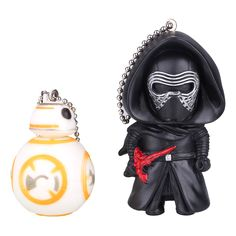 Cheap Action & Toy Figures, Buy Directly from China Suppliers:Description100% brand new and high qualityStar Wars figureBB8, black knight Darth Vader 3D model key chain for key