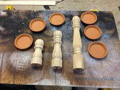 Wood wall: check. Stain fireplace brick: check. Decorations for mantle: Right, so next on my list of things was to make decorations for my fireplace mantle and the first thing that came to mind was candle stick holders. I browsed around online and saw these Inspiration: Not only are they pretty, but they would also …