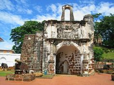 This is A Famosa, the famous Portuguese fortress in Melaka, Malaysia. Built in 1511 under the command of Afonso de Albuquerque, A Famosa means 'The Famous' in Portuguese. It is one of the oldest surviving remnants of European architecture in Southeast Asia. I took this photo way back in 2011 when visiting Melaka for the first time. Had to ask the locals where it was located and we were given several different directions that it took about two hours to finally reach there.