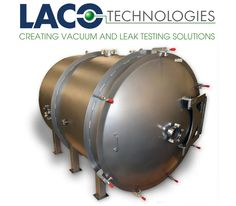 """LVC4850-3312-HI: 48"""" X 50"""" HI VACUUM CHAMBER - Large 48"""" diameter x 50"""" long provides easy access for loading and unloading. The #vacuumchamber body is constructed of stainless steel with a rugged stainless steel butterfly mounted door. HI series #vacuumchambers can achieve vacuum performance down to 0.05 Torr…"""