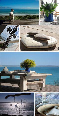 A West Coast Gem: Die Huis op die Duin / Val de Vie South Afrika, Sea Dream, Beach Cottage Decor, Lush Garden, Afrikaans, Beach Cottages, Beautiful Sunset, Display Ideas, East Coast